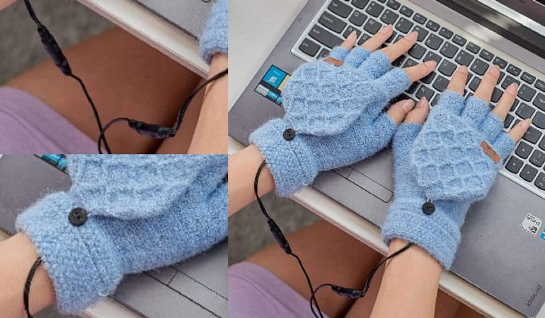 Guantes térmicos para el ordenador